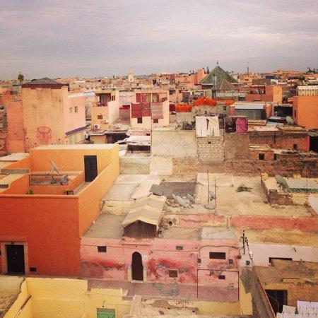 Vista dalla terrazza Riad Dar Mo'da