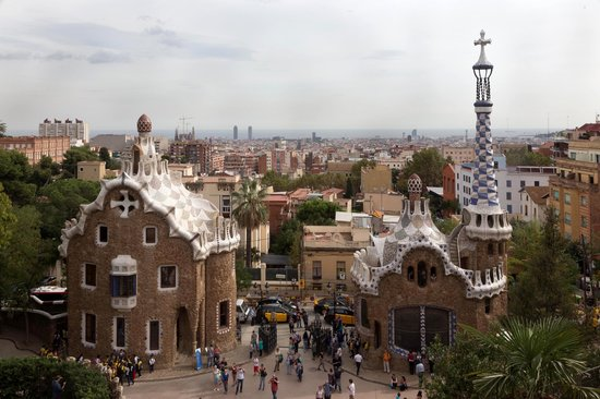 Barcelona Turisme Guided Tour Park Guell: Park Guell