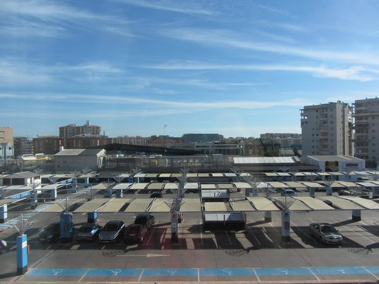 Tryp Malaga Alameda Hotel: Room view