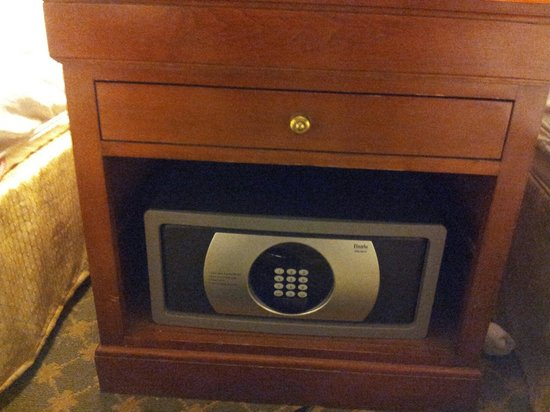 Chestnut Hill Hotel: Safe in the room