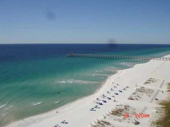 Hilton Pensacola Beach: View from our suite