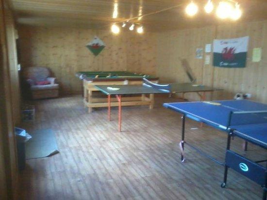 Afonwen Farm: games room