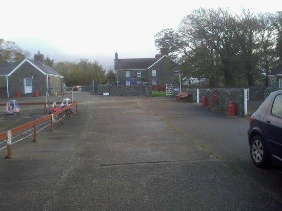 Afonwen Farm: grounds