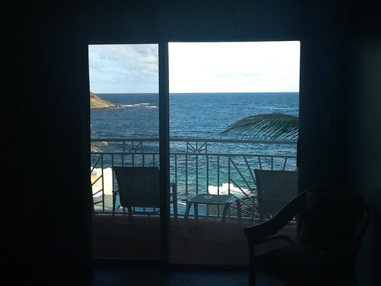 Oyster Bay Beach Resort: view from the livingroom