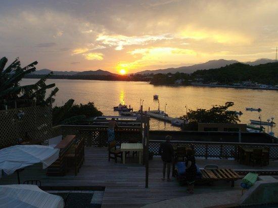 Casa Libre Puerto Rico: sunset view from Casa Libre