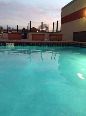The Inn On Lake Superior: View from the rooftop pool