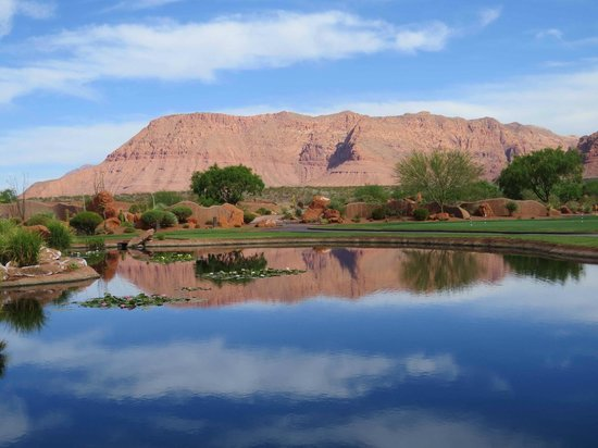 The Inn at Entrada: View from Golf Clubhouse