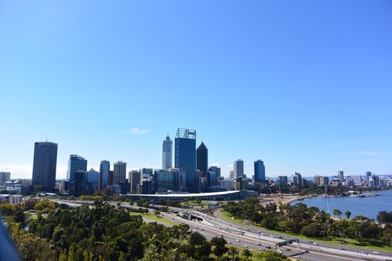 Fraser Avenue Lookout: Perth Lookout