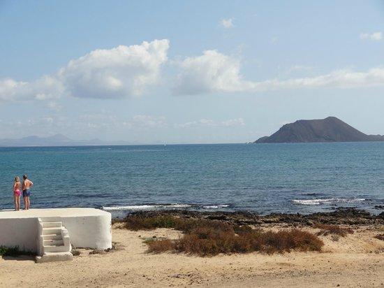 Galera Beach Resort: View from the balcony