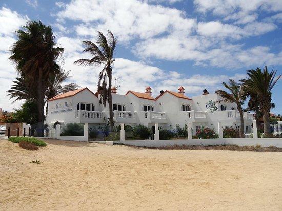 Galera Beach Resort: View from the beach