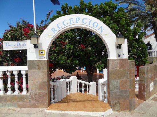 Galera Beach Resort: Entrance