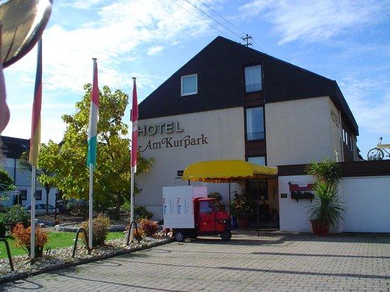 Hotel Am Kurpark ( Not the owners van)