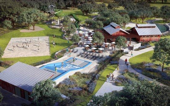 Hyatt Regency Hill Country Resort and Spa : Birds Eye View other side