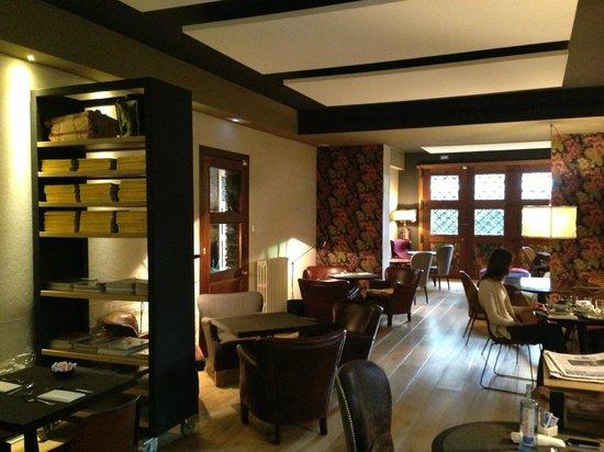 Hotel Primero Primera: Здесь проходил наш завтрак
