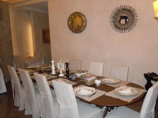 Hotel Adriano: Dining Room