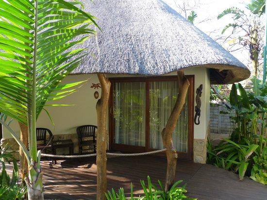 Lodge Afrique: Chambre dans la verdure