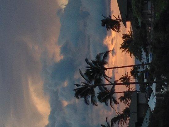 The Kapalua Villas, Maui: sunset outside of the villa