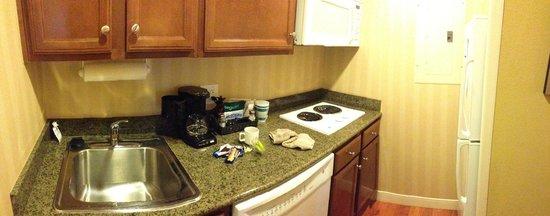 Homewood Suites Houston near the Galleria : Kitchenette