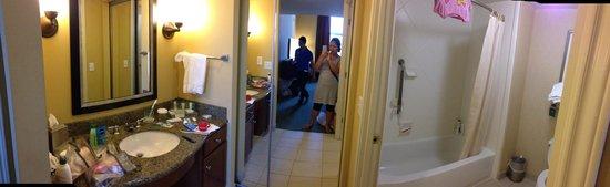 Homewood Suites Houston near the Galleria : Bathroom