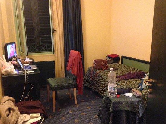Hotel Da Vinci: single bed