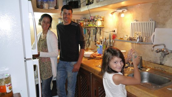 Riad Aguerzame: en cuisine