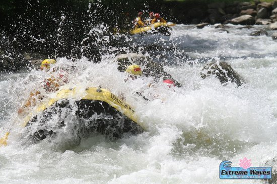 Extreme Waves Centro Rafting in Val di Sole: Rafting noce 2