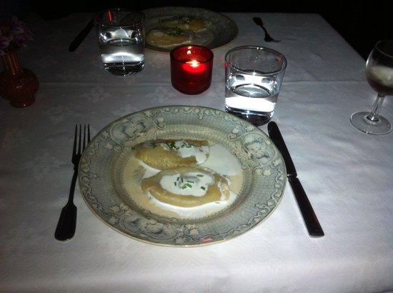 Cometa Restaurante: Les ravioles, spécialitées de la maison