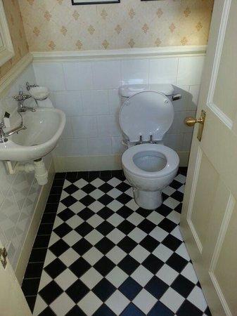 Crewe Hall: Extra mini bathroom