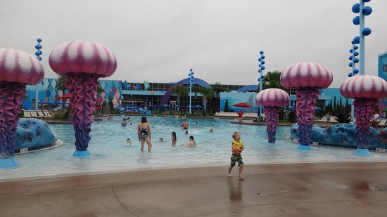 "Disney's Art of Animation Resort: Área da piscina do ""Procurando Nemo"""