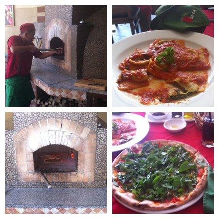 Sasa'  Ristorante Italiano: Our delicious food!