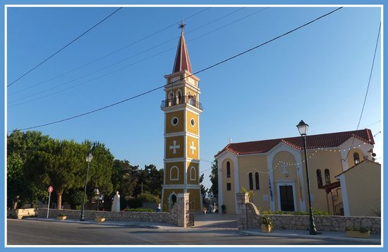 La Sirena Apartments : The church at the bottom of the road
