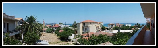 La Sirena Apartments : The view from the back of the apartments