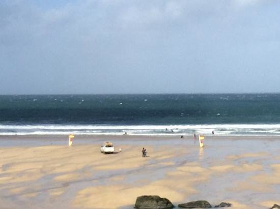 Porthmeor Cafe: View from the restaurant
