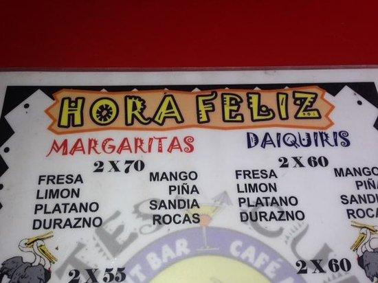 """Cuates y Cuetes: Cuates y Cutes """"Special"""" Happy Hour Prices"""