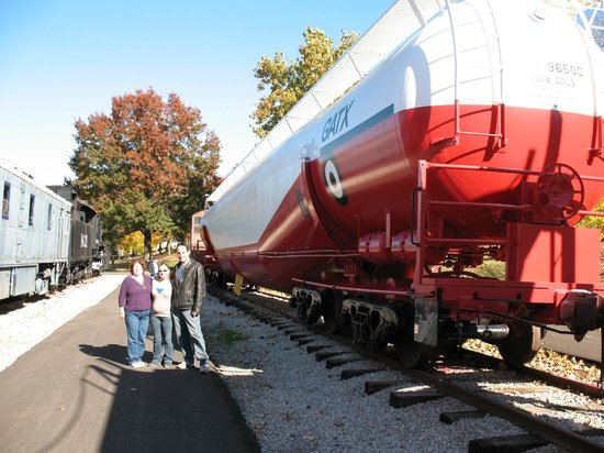 Museum of Transportation: Largest tanker car