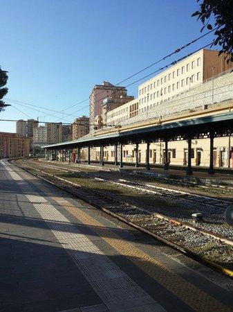 Hotel Agrigento Home : La stazione di Agrigento dove si trova l'hotel