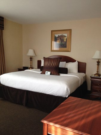 Park Place Hotel : Comfy bed!