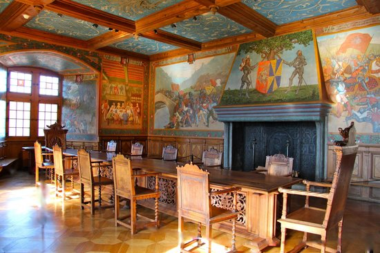 Castle of Gruyeres: Main Knights Hall