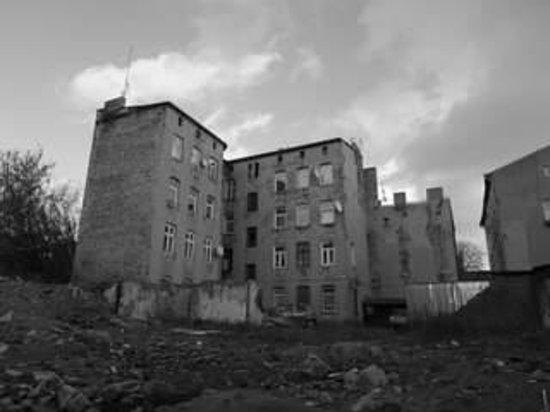 Lodz, Pologne : area ghetto oggi