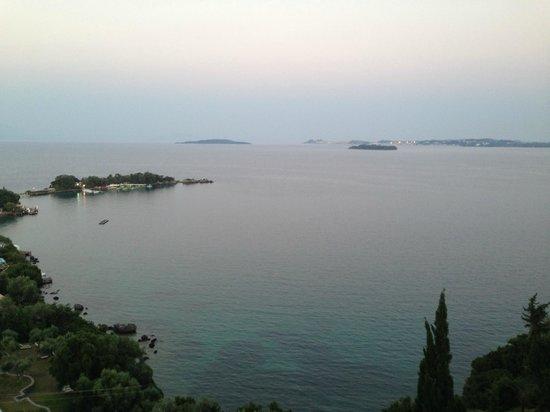 Grecotel Eva Palace: Вид с балкона