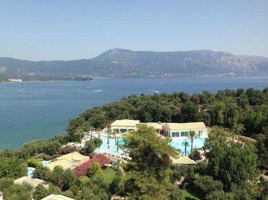 Grecotel Eva Palace: Вид с балкона!!!