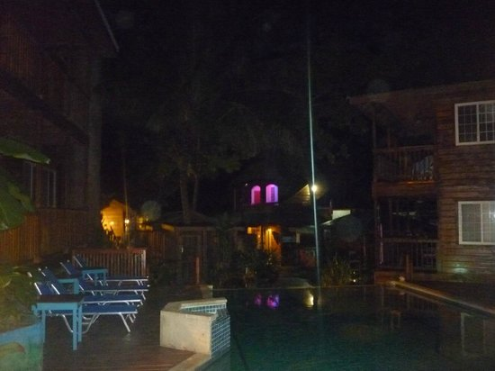 Blue Bahia Resort: By night