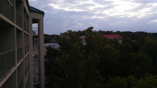 Music Road Resort Hotel: Looking out
