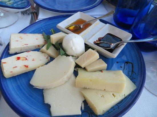 Caffè Positano : Cheese plate