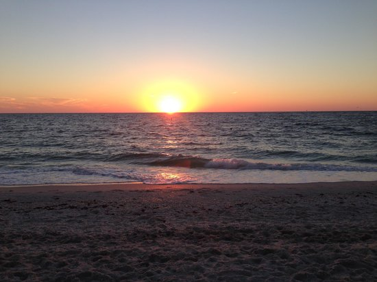 A Beach Retreat on Casey Key: Magnificent sunset