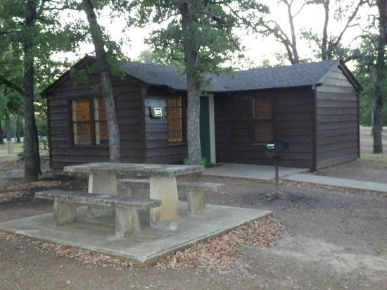 Lake Murray State Park & Lodge : Lake Murray State Park 1 bedroom cottage