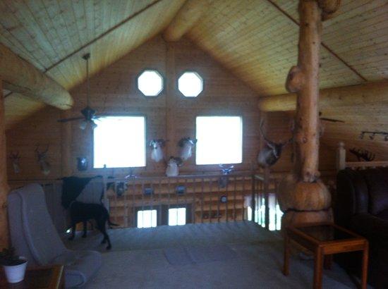 Alaska's Wasilla Bed and Breakfast: loft view