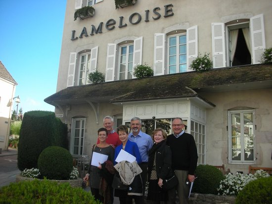 Maison Lameloise : With family in September