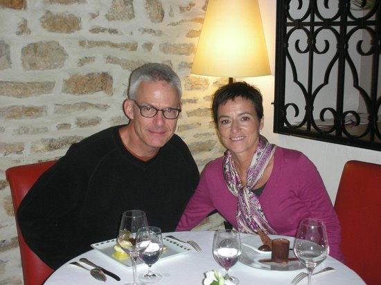 Maison Lameloise : Anniversary dinner a couple years ago