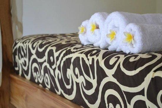 Suka's House Bed & Breakfast : beding